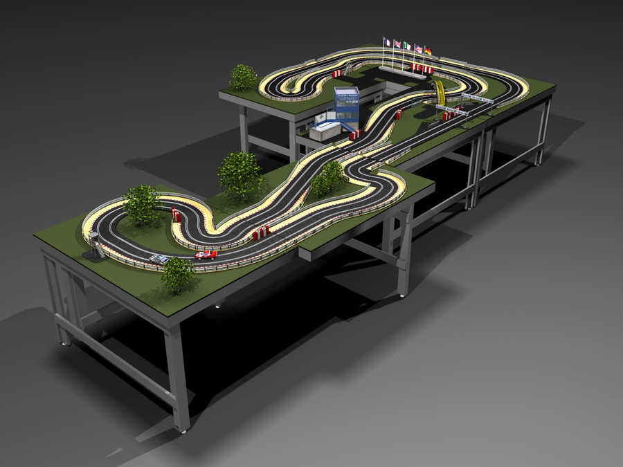 scalextric slot car layouts related keywords scalextric